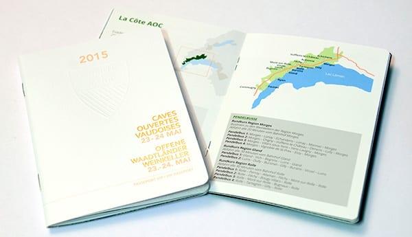 cave ouvertes vaudoises passeport édité