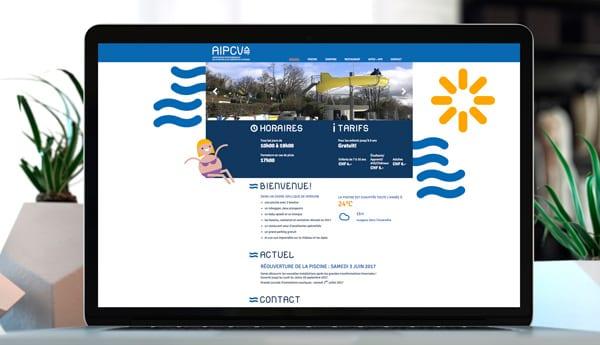 site internet piscine de la venoge