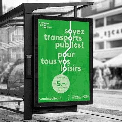 Semaine de la mobilité_affichage -rues